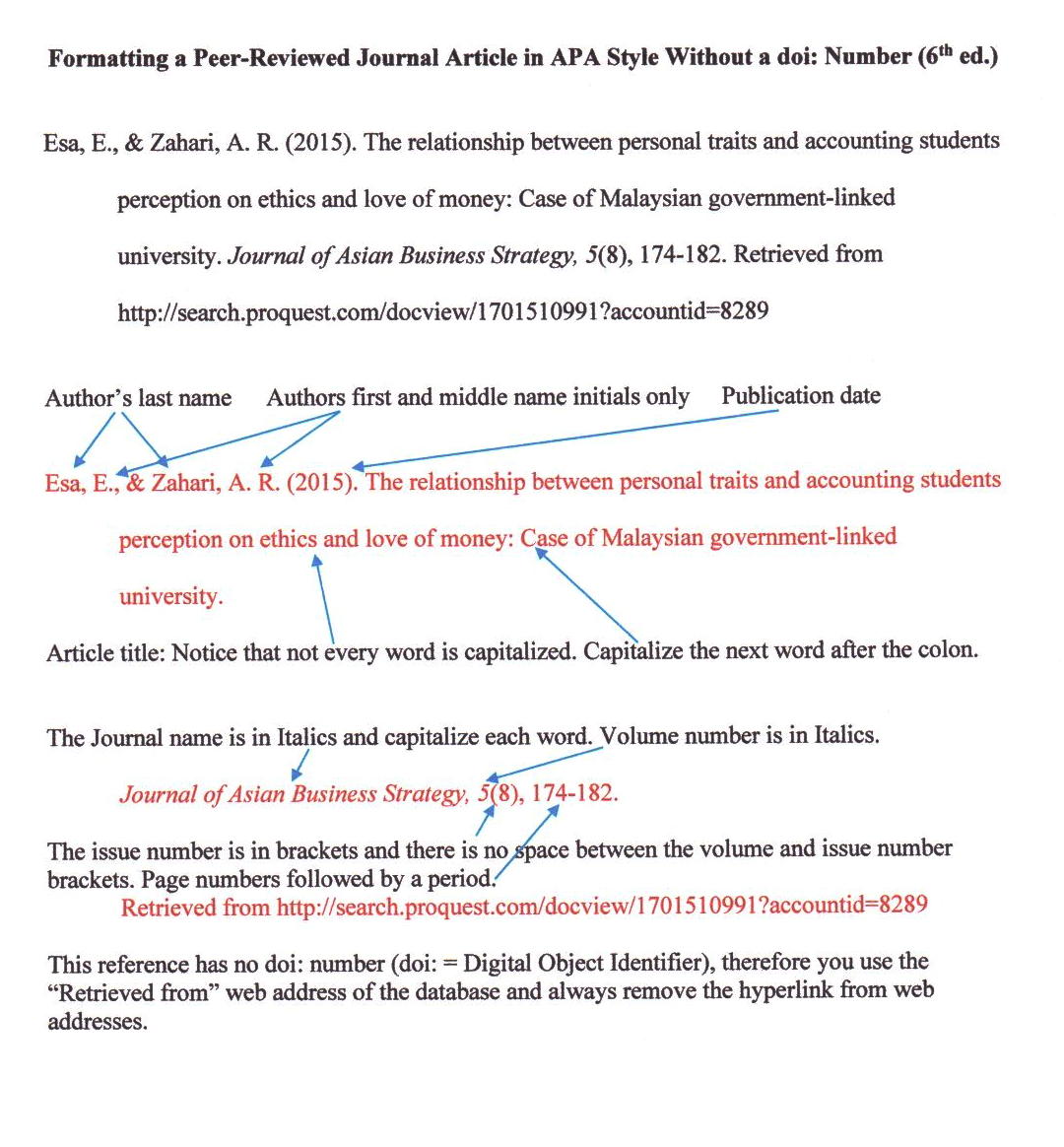 apa style journals Apa format citation generator for journal article - an ultimate tool for students and scholars apa referencing style for journal article, book, and newspaper appeared in 1929 this style is older than all authors, students, and researchers who use it today.