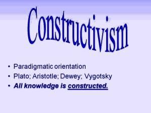 Constructivism (1)