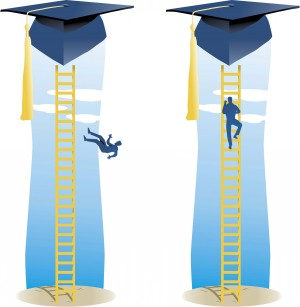 Drop-out-ladder